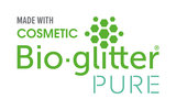 Made with Bio-Glitter PURE