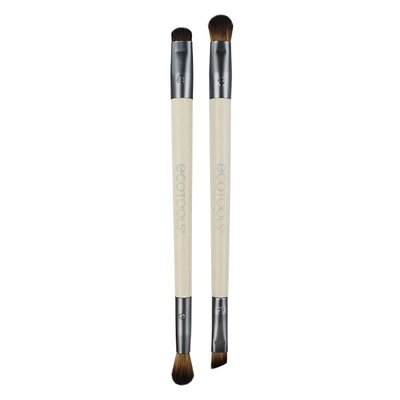 EcoTools, Eye Enhancing Duo Set, 4 Brush Heads