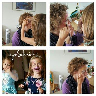 Ouder-kind workshop natuurlijk schminken 2,5 uur