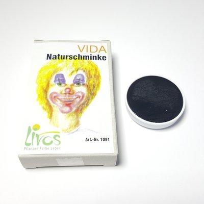 Livos Vida natuurlijke vetschmink, navulling (zwart/wit/bruin/groen)