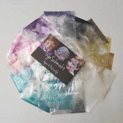 Bio-glitter® set van 12 kleuren