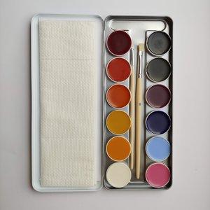 Livos Vida natuurlijke vetschmink, 12 kleuren