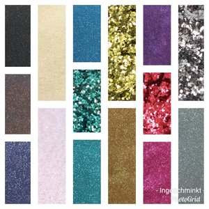 Alle kleuren Bio-glitter